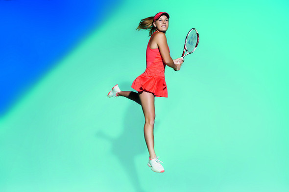 Adidas by Stella McCartney: Caroline Wozniacki Playing Tennis