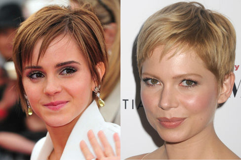 Emma Watson and Michelle Williams