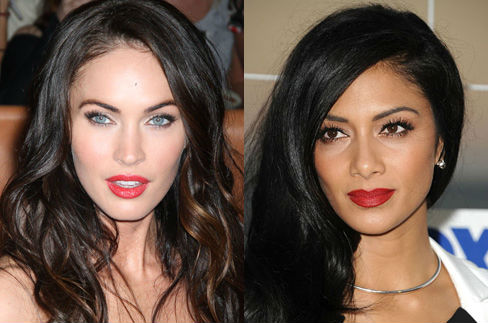 Megan Fox and Nicole Scherzinger