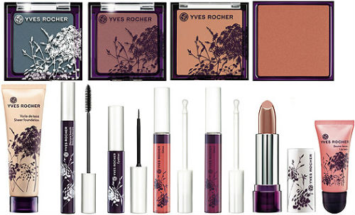 Yves Rocher Colors Summer 2012 Makeup Collection Beauty Tips
