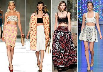 Celebrity Fashion Trendы: Bustier Top and Exposed Belly