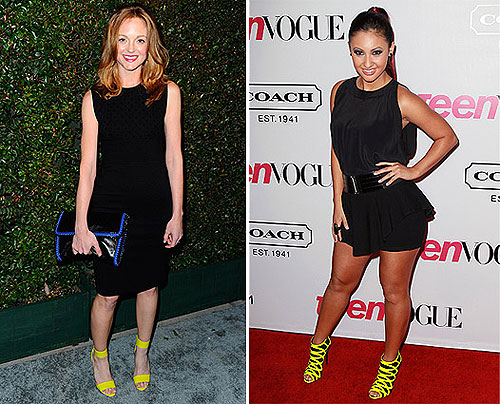 Celeb Fashion Trend: Neon Colored Shoes