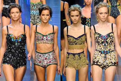 Dolce & Gabbana 2012 Swimwear