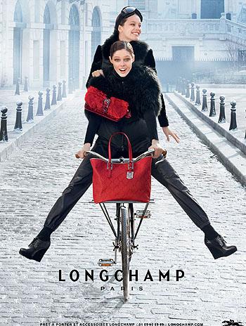 Coco Rocha for Longchamp FW 2012-2013
