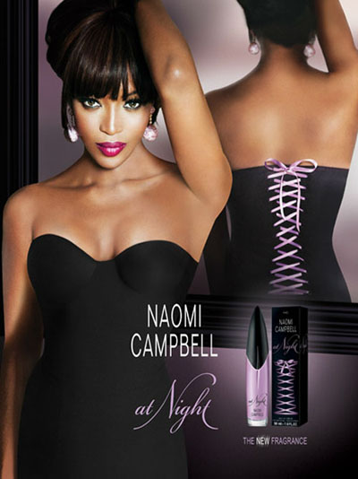 New Fragrance Naomi Campbell At Night