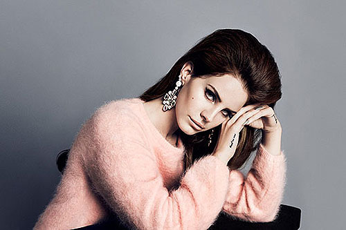 Lana Del Rey Is the New Face of H & M