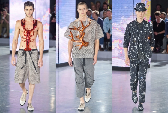 Most Bizarre Catwalk Fashions for Men 2012