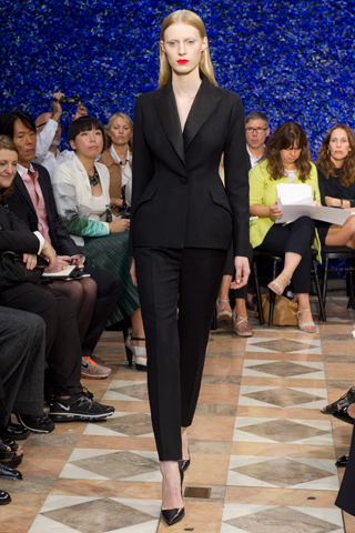 Raf Simons Debuts His Collection for Christian Dior