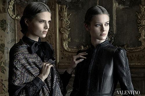 Valentino FW 2012-2013 Ad Campaign