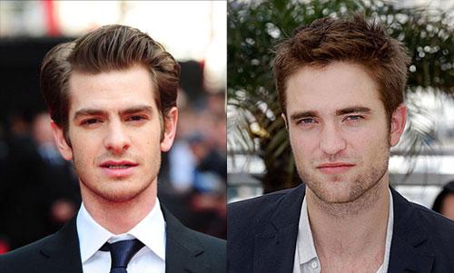 Andrew Garfield and Robert Pattinson