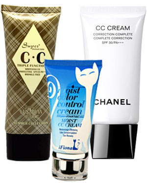 Chanel and other brands' CC Creams