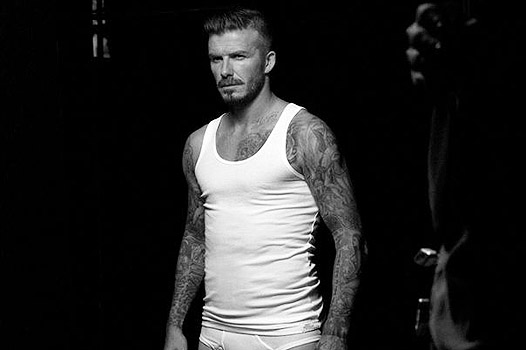 David Beckham in H&M Underwear