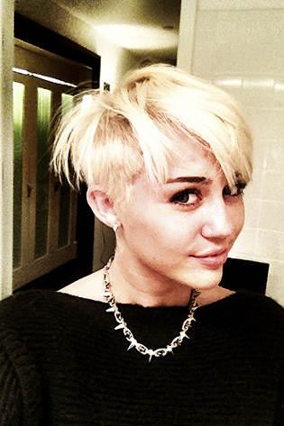 Miley Cyrus's New Short Hairdo