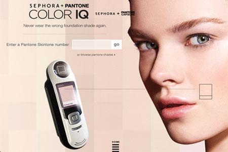 Sephora + Pantone Universe Color IQ