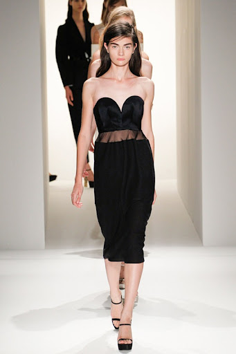 Calvin Klein SS 2013 - Black Dress