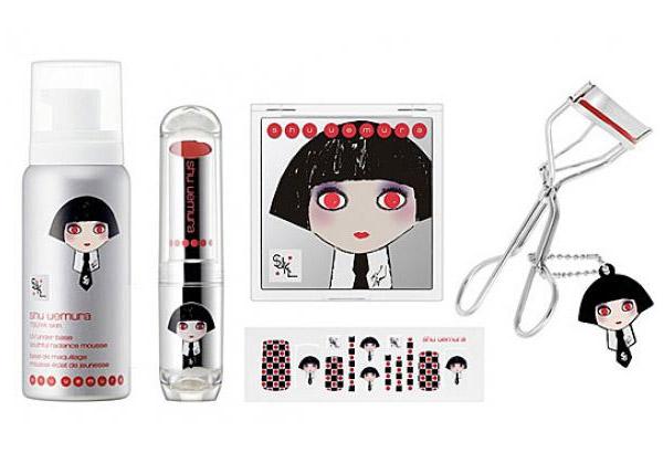 Shu Uemura and Karl Lagerfeld Makeup