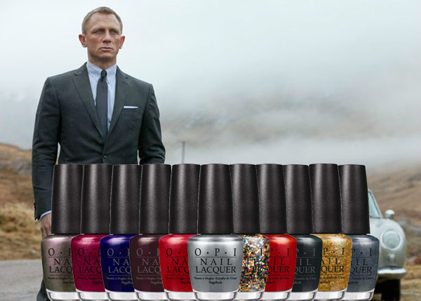 James Bond Inspired OPI Nail Polish Line