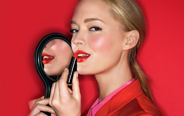 Bobbi Brown Lipstick Ad