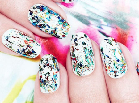 Nail Art Graffiti By Nails Inc