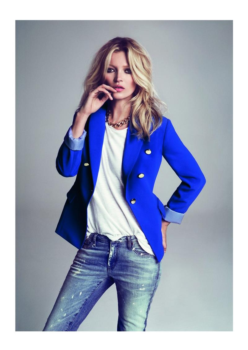 Kate Moss for Mango FW 2012-2013