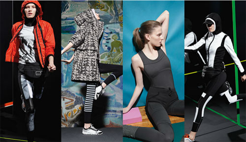 Adidas by Stella McCartney: 4 Looks - 4 Cities
