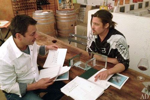 Brad Pitt Designs Furniture