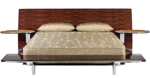 Bed designed by Brad Pitt