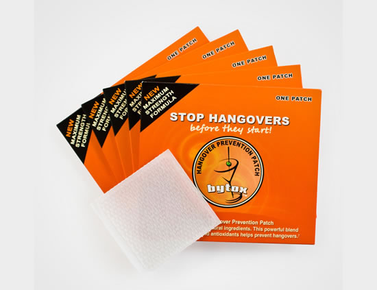 Hangover Prevention Patch for Holidays