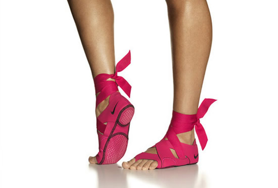 Nike Footwear for Pilates and Yoga