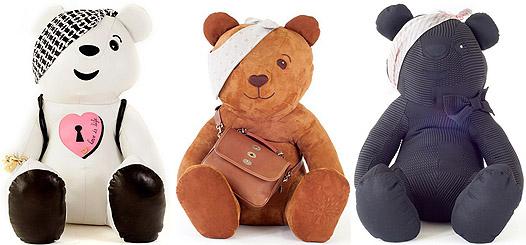 Designer Pudsey Teddy Bears to raise money for children