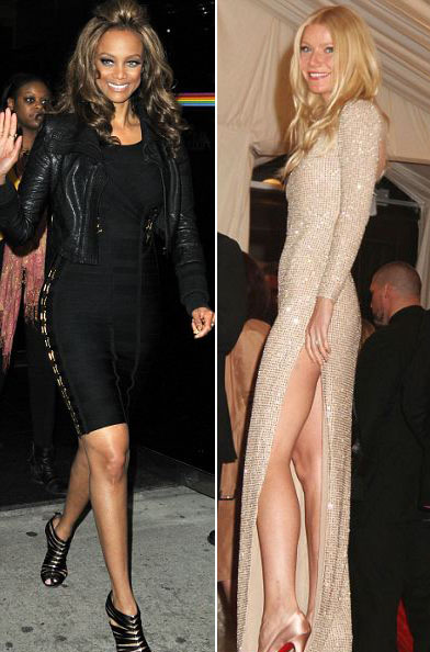 Celebs wearing shapewear