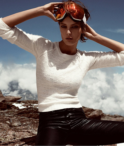 Daria Werbowy for H & M