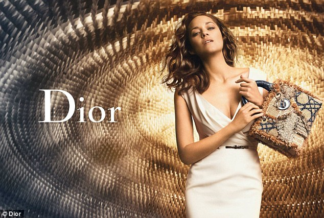 Lady Dior Bag by Marion Cotillard