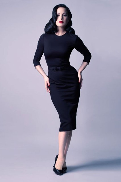Dita von Teese's Dresses Collection