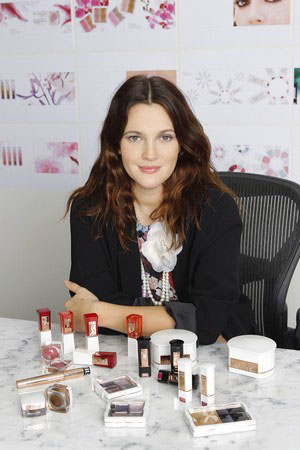 Drew Barrymore's Makeup