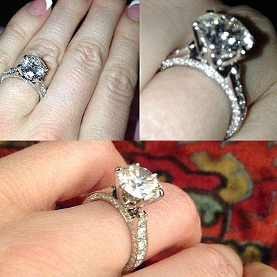 Crystal Harris' Ring