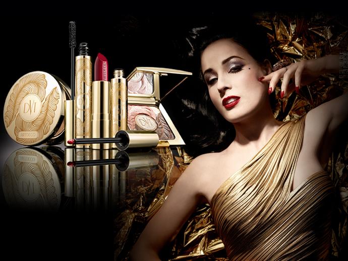 Golden Vintage Makeup