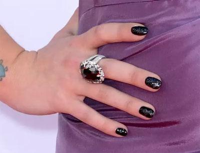 Kelly Osbourne's Manicure for $250,000
