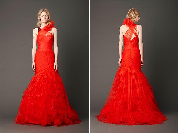 Vera Wang Wedding Gowns 2013 SS