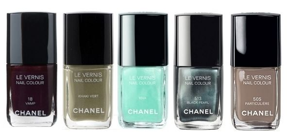 5 popular Chanel Nail Polishes