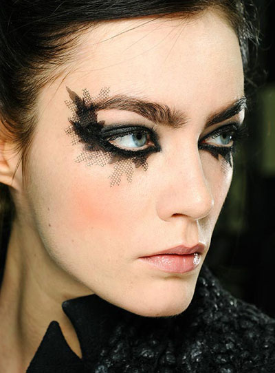 Fake Lace Lashes by Chanel