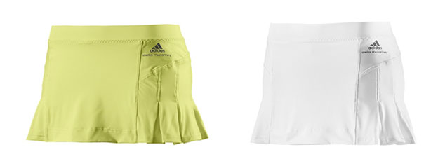 adidas by Stella McCartney & Barricade Tennis Skort in 2 Colors