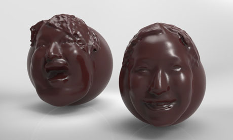 Chocolate portraits