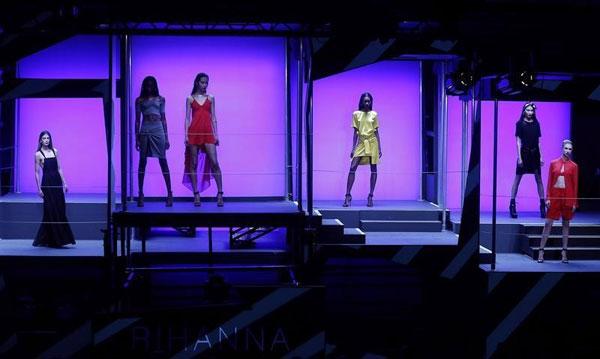 Rihanna's fashion show