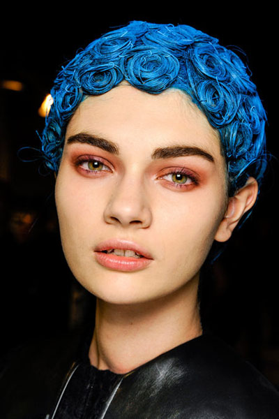 Weirdest Hairstyles at Givenchy Fall 2013 Fashion Show | Fashion ...