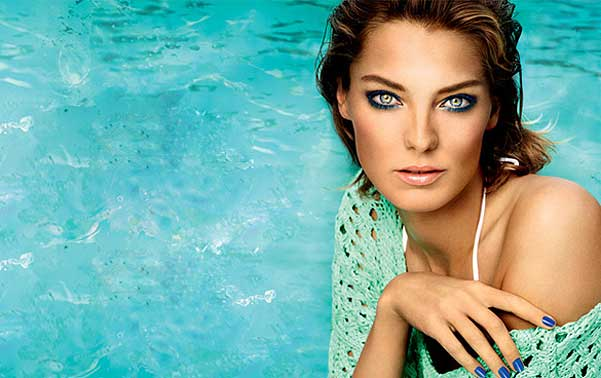 Daria Werbowy for Lancome