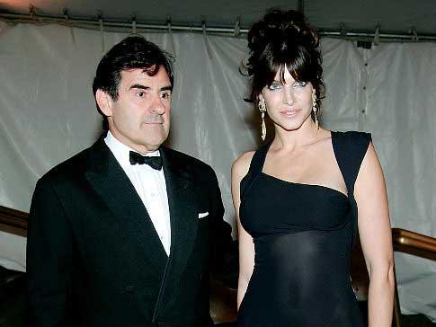 Stephanie Seymour & Peter M. Brant