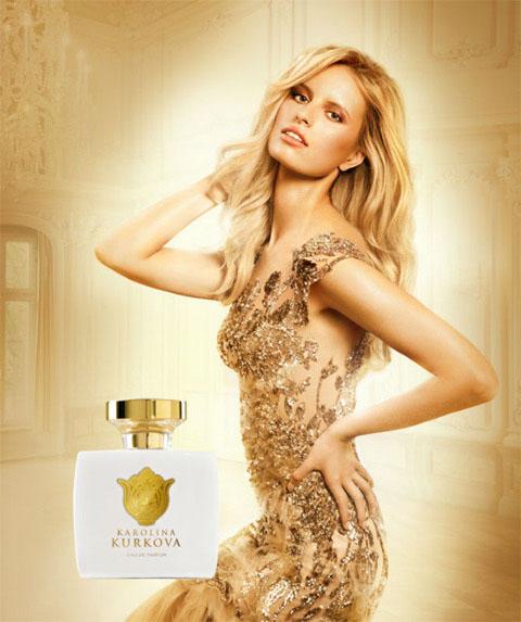 Karolina Kurkova Comes up with her own LR Perfume ...