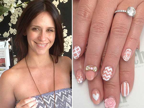 1-love-hewitt - Celebrity Nail Art Lovers Beauty Tips & Makeup Guides - Geniusbeauty