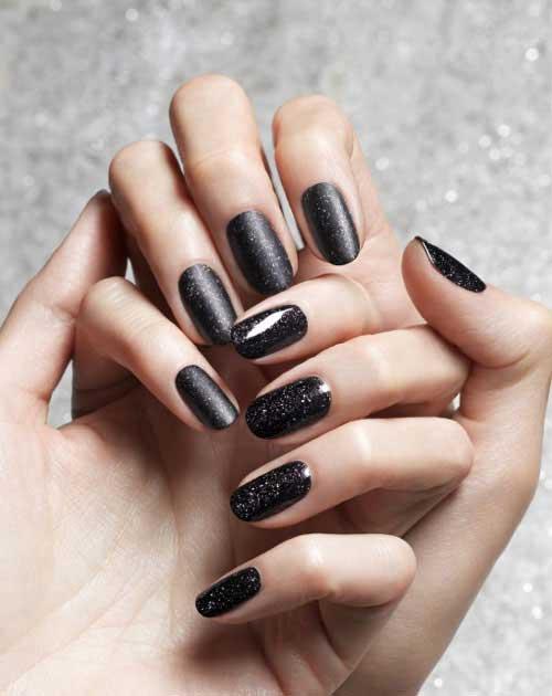 obsidian nail polish